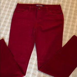 Red Vineyard Vines Corduroy Pants